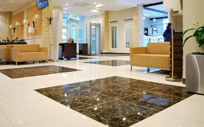Airport Waiting Room Marble Tile, Russia