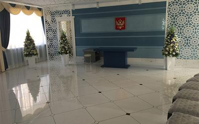 Marble Tile in Department of Civil Affairs, Russia