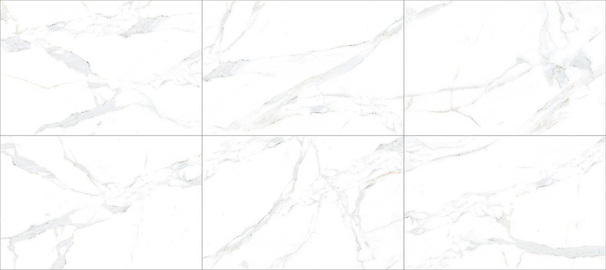 1 White Marble Floor Design Calacatta Gold Marble Tile