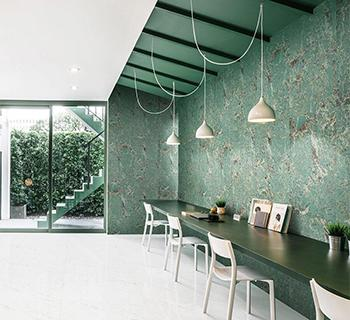 Green Marble Tile Collection