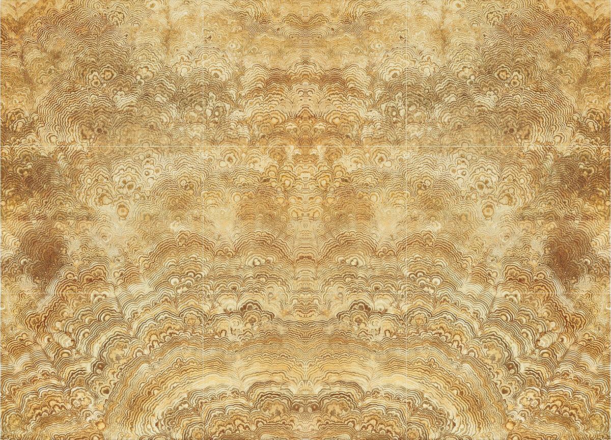 Gold Phoenix Marble Wall Tile Gani Tile