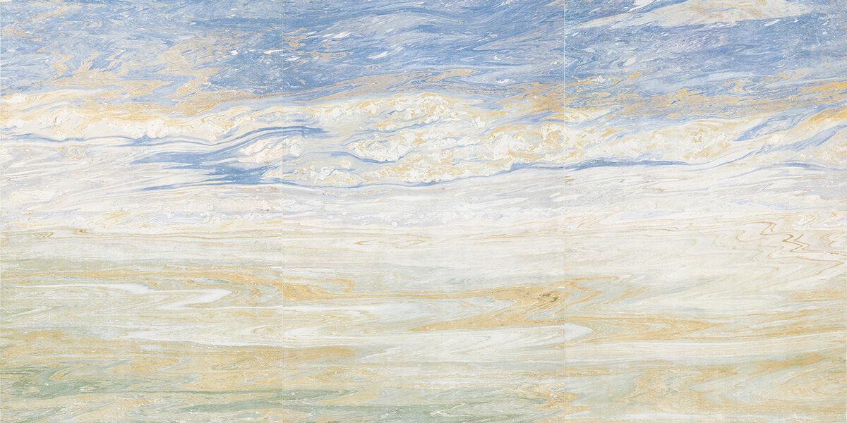 Blue Ocean Marble Wall Tile Gani Tile
